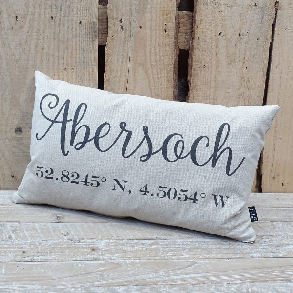 Place Name Cushion