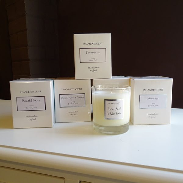 Lavender House Scented Candles