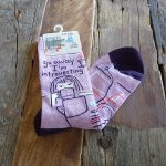Lavender House Slogan Socks image2