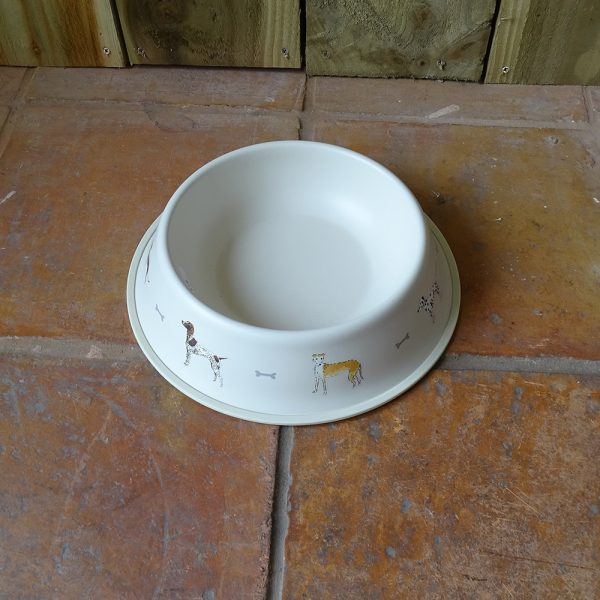Lavender House Woof 22cm Dog Bowl
