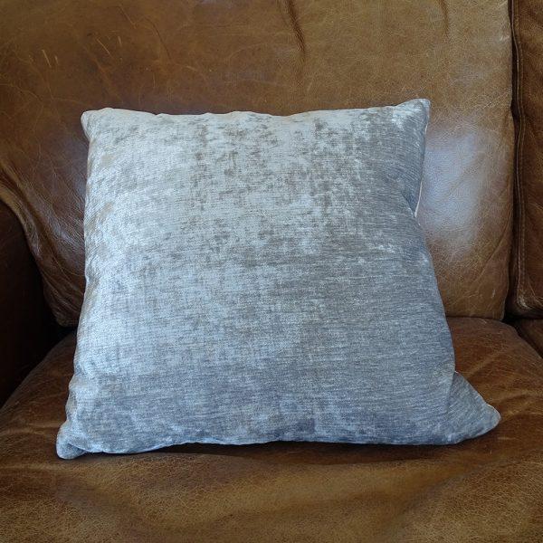 Lavender House Voyage Taupe Velvet Cushion