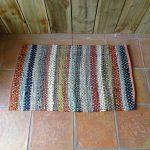 Lavender House Rust mix stripe rug