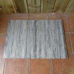 Lavender House Islay Grey Blue Weave rug