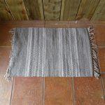 Lavender House Grey Stripe rug
