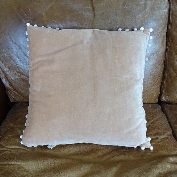 Lavender House Blush Velvet Cushion