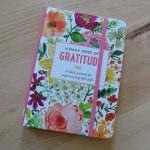 Journal titled - Daily dose of gratitude