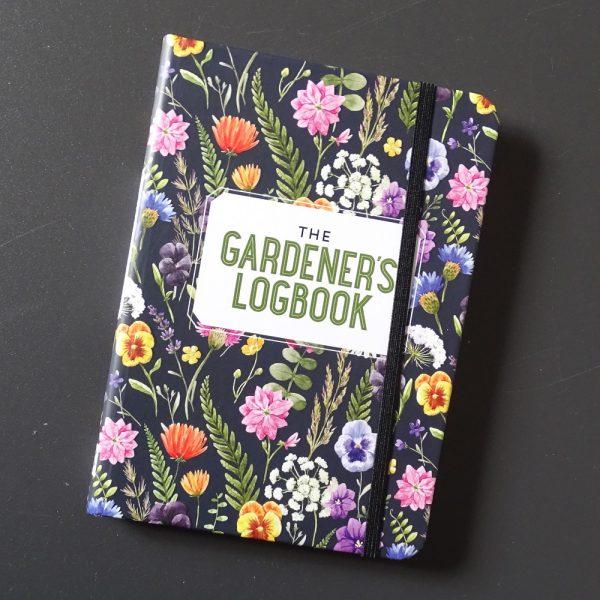 Logbook titled - The gardener's logbook