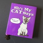 Book Titled - Shit my cat says