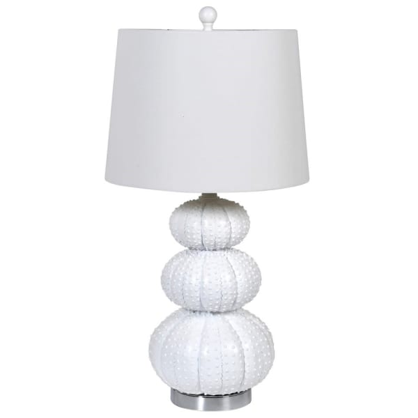 Lavender House Sea Urchin style Lamp with Shade