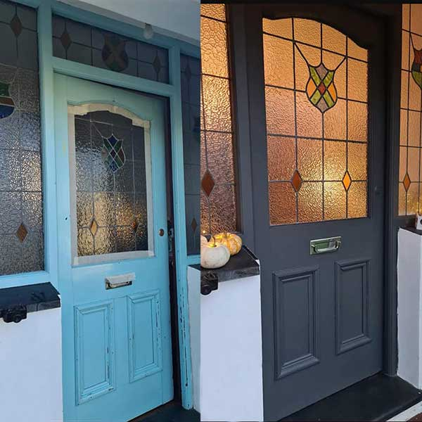 Frenchic Painted Front Door