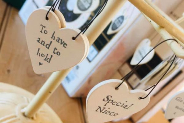 Heart Shaped Phrase Signs