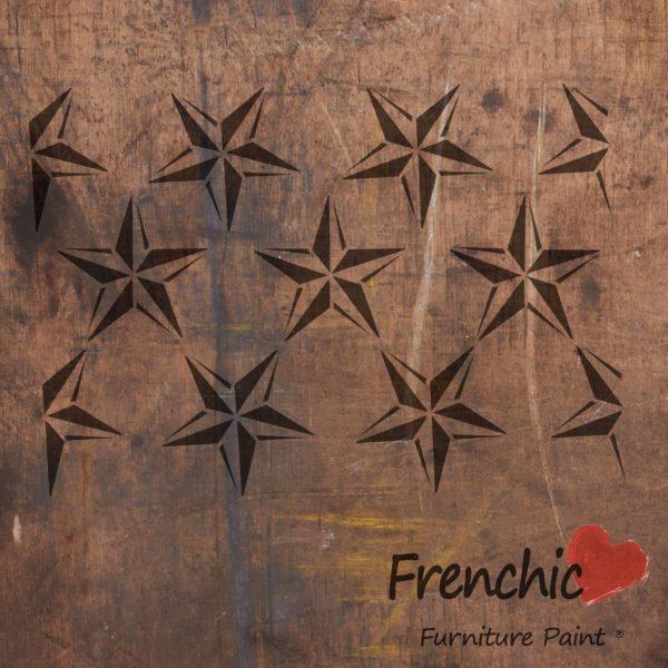 Barn Star Repeat Stencil