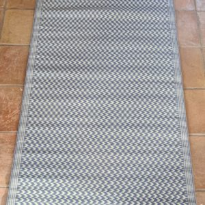 Light Blue 100% Recycled Polypropylene Rug