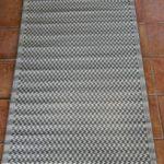 Light Grey 100% Recycled Polypropylene Rug