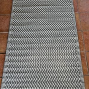 Light Grey 100% Recycled Polypropylene Rug