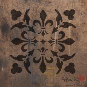 Fleur Wood Stencil