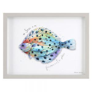 Favourite Plaice - Maria Allen artwork