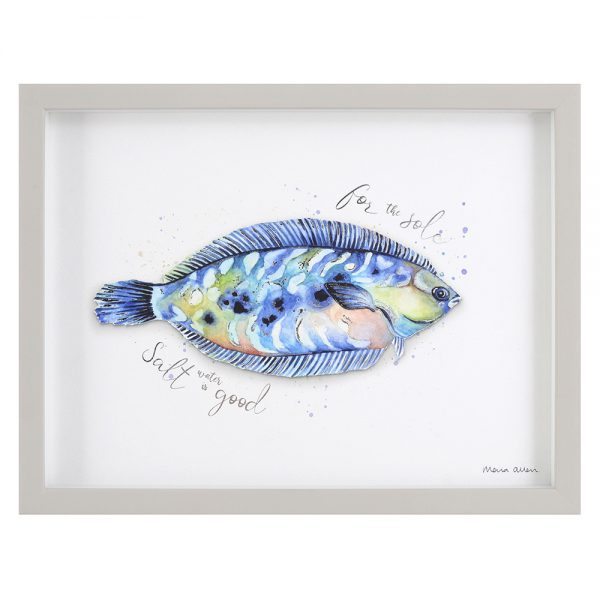 Maria Allen artwork - Good for the Sole