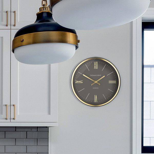 Thomas Kent Clock Hampton Gold