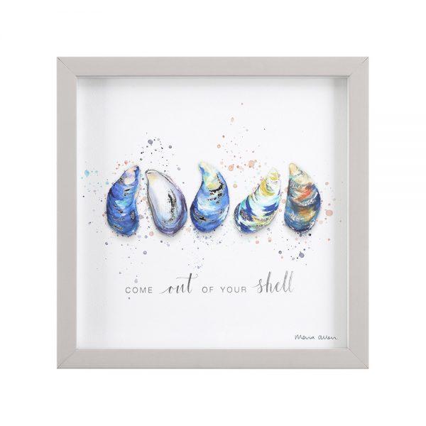 Maria Allen Shell Print Artwork
